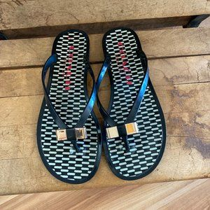 Coach Landon/Jelly  Flip Flops Sz 7B